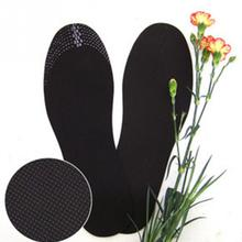 Unisex 1 Pair Healthy Bamboo Charcoal Deodorant Cushion Foot Inserts Shoe Pads Insoles