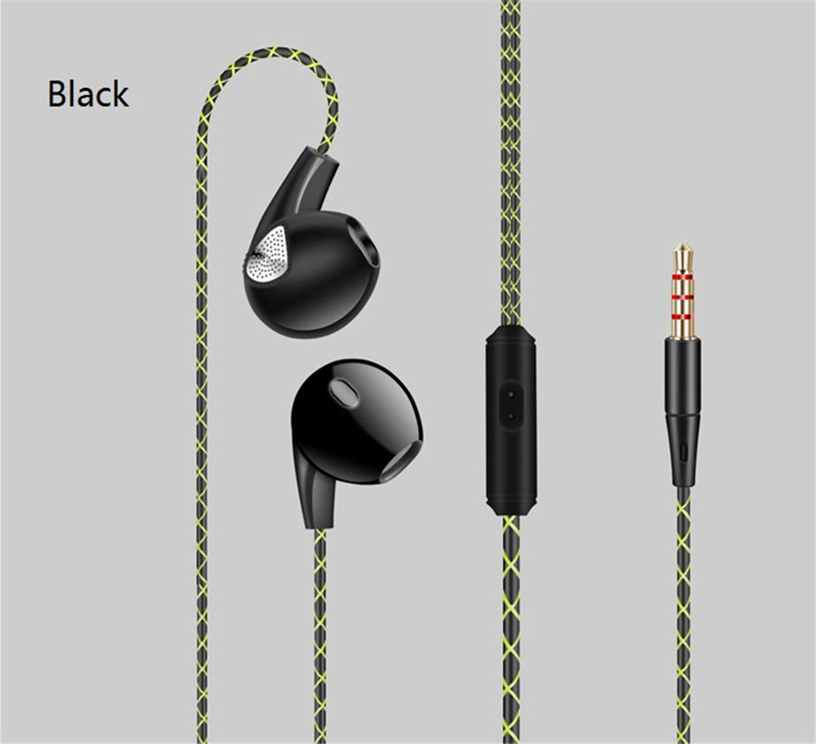 Fonge Brand Earphones HiFi Stereo In-ear Headset With Mic Deep Bass Quality Music Headsets Sport Sweatproof Earbuds For iphone