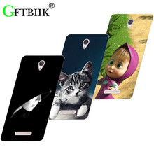 Hot Ultra Thin Back Cover For Lenovo A5000 A 5000 Protective Phone Case Horse Dog Cat Soft Silicone Fruits Cases(China)