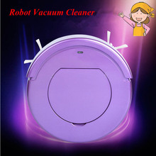1pc Household Cleaning Robot Ultra-Thin Intelligent Automatic Efficient Vacuum Cleaner KRV205(China)