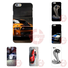 ford mustang s shelby the cobra snake Soft TPU Silicon Screen Protector For Apple iPhone 4 4S 5 5C SE 6 6S 7 7S Plus 4.7 5.5