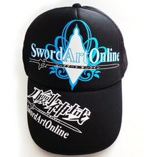 Top Anime Sword Art Online Logo Cotton Baseball cap adjustable Van Hat Christmas Cosplay Gift