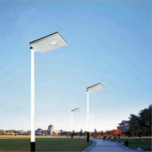 LED Pole floodlight Mini Solar Street Light Spotlight(China)