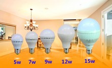 wholesale Led Bulb E27 E14 B22 2835 SMD 5W 7W 9W 12W 15W 25W 50W LED Lamps 110V 220V Light Bulb Home Led Spotlight Lamps(China)