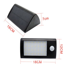 450LM 28 LED Solar lamp Sensor solar Powered Panel LED Street Light Outdoor Garden Path Spot Wall Emergency Lamp luminaria