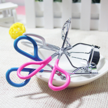 Delicate Lady Women Eyelash Curler Lash Curler Nature Curl Style Cute Curl Eyelash Curlers-Silver Beauty Tools (Pink,white,blue)