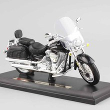 1/18 scale child mini metal diecast YAMAHA 2001 Road Star Silverado touring cruiser motorcycle models collection Toys for kids(China)