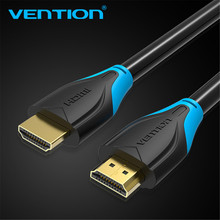Vention HDMI Cable 2.0 3D 2160P Cable HDMI 1m 2m 5m 3m 10m 15m With Ethernet HDMI Adapter For HDTV LCD Projector HDMI 4K Cable(China)