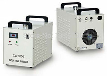 1pc High quality Co2 laser chiller CW-3000AG 220V 50/60HZ for 80W CO2 glass laser tube Free shipping by DHL
