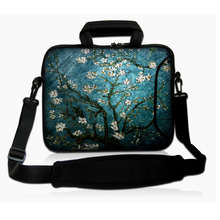 "14"" Big Size Nylon Computer Laptop Bag Bags Case Messenger Shoulder Unisex Men Women Notebooks Bag For Dell Lenovo HP Asus"