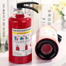1PC Exquisite Hydrant Coins Storage Box Safe Fire extinguisher Machine Plastic Box Craft Save money cans desktop Decoration gift(China)