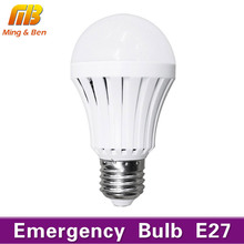 LED Emergency Light Bulb Automatic Charging 5W 7W 9W 12W Cold White Rechargeable Battery Lamp E27 AC85-265V LED Lampada SMD 5730(China)
