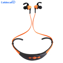 BT-54 Pro Wireless Bluetooth Stereo 4.1 Neckband Earhook Earphones with MIC Sport Noise Reduction Headphones Headset 6 Colors