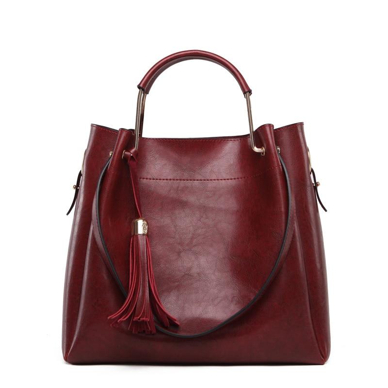 2017 New Fashion Women Composite Handbag Large Tote Bag Shoulder Bags with Soft Pu Leather Female Luxury Brand Designer Purses<br>
