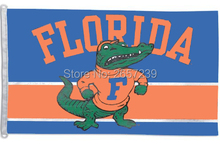 NCAA College Vault Florida Gators Flag 3x5FT banner 100D 150X90CM Polyester brass grommets custom66,free shipping
