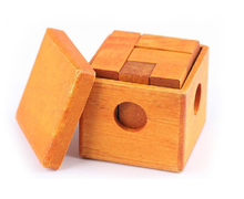 IQ Wooden Box Cube Puzzle Mind Logic Brain Teaser Game Toys for Adults Children
