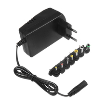30W Universal AC Wall Plug in Power Adapter 3v 4.5v 5v 6v 7.5v charger with 6x tip Switching power supply(China)