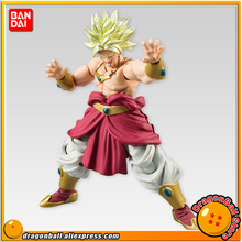 "Japan Anime ""Dragon Ball Z"" Original BANDAI Tamashii Nations SHODO Vol.5 Action Figure - Super Saiyan Broly (9cm tall)"
