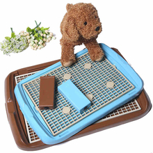 Cleaning Indoor Pet Dog Toilet Tray Mat Training Pads Dogs Poop Pee Feces Bandeja Cat Toilets Small Mascotas Puppy Potty 70A0914