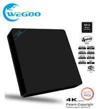 NEW  I68 II 2GB 16GB Android 6.0 TV Box Amlogic S912 TV Fully Loaded Dual WiFi BT 4.0 Kodi 16.1 4K H.265 Set Top Box