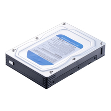"Uneatop ST5510 Single Bay 2.5"" to 3.5"" Aluminum Case SATA HDD Enclosure Converter SATA Mobile Rack"