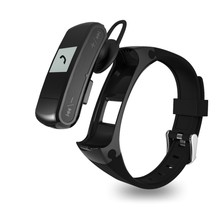 Bluetooth Headset Music Player Smart Band Pedometer Heart Rate Talk Band For iOS Android Phone Support SD Card USB Wristband