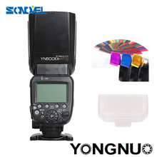 Buy YONGNUO YN600EX-RT II 2.4G Wireless HSS 1/8000s Master Flash Speedlite Canon Camera 600EX-RT YN600EX RT II + GIFT KIT for $112.90 in AliExpress store