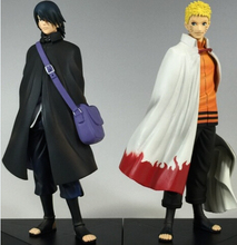 NEW hot 15cm 2pcs/set Naruto Uchiha Sasuke adult Uzumaki Naruto action figure toys Christmas gift doll(China)