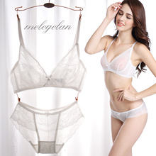 Ultra-thin luxury lace bra hot sexy ladies bra push uo bra with cute ribbon of high quality for hot sexy ladies