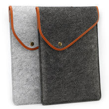 "Wool Felt Sleeve Case Bag For ipad mini MacBook Laptop Air 11''13""15'' Retina Pro Computer For Ipad Envelope Mini Bag"