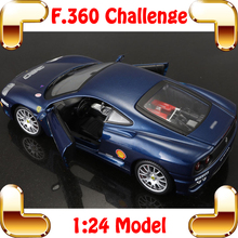 New Coming Gift 360 Challenge 1/24 Metal Model Car Collection Diecast Window Showcase Static Toys Car Vehicle Sports Alloy Scale(China)