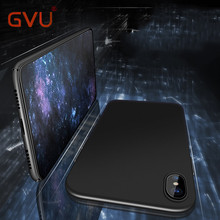 Buy GVU Luxury Fashion Case iPhone X Cases Cover Apple iPhone 8 8 Plus 10 Case Hard Matte Protect shell 360 Full Phone Cover for $1.79 in AliExpress store