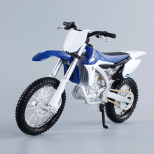 1/12 Scale YAMAHA YZ450F Motocross Diecast Metal Motorcycle Model Toy New In Box For Gift/Collection/Kids