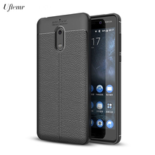 Uftemr Phone Cover Case For Nokia 6 Slim Soft TPU Silicone Back Shell Protective Cases For Nokia 6 Phone Acessories(China)