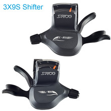S-Ride 3X9 Shifter MTB Conjoined DIP 9 Speed Triple MTB Derailleur 27 Speed Shift Mountain Bicycle Part Compatible for Shimano(China)