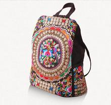 New Promotion Women's Shoulder bags!Hot national Embroidered embroidery Carrier Top Lady camera Carrier double-use shoulder bag