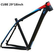 "CUBE Aluminum Alloy Mtb Mountain Bicycle Cycling Frame 16/18"" 26/27.5 Wheel compatible with SHIMANO Bicycle Derailleur Part"