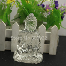 Free Shipping 1pcs/lot crystal   Buddha figures
