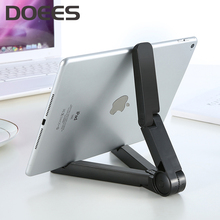 DOEES Universal ABS 360 Tablet PC Phone Stand Holder For iPhone 7 Plus 6 Charger Desktop For Samsung S8 S7 Phone Accessories(China)