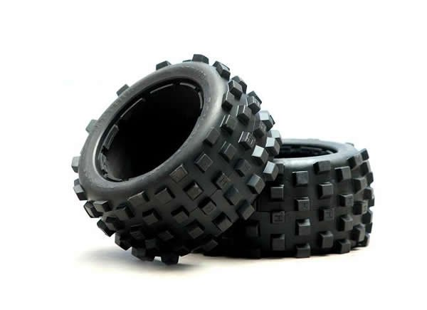 rear dirt tires fit 1/5 baja 5B 2PCS<br>