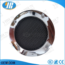 2pcs 2 inch 65mm Silver Speaker Protective Grille circle With protective black iron mesh DIY decorative diy arcade cabinet(China)