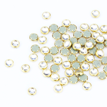 Blueness Gold Charms 3D Decoration for Nail Art Design Manicure Clear Adhesive Supplies PJ333