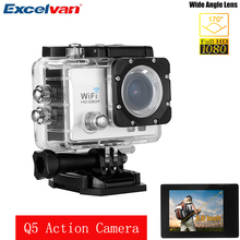 1080P Action Sport Camera Full HD 30M Waterproof Q5 Action Camera With 2.0 Inch LCD H.264 Support Wi-Fi Anti-shake DV