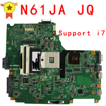 free shipping for ASUS N61JQ  laptop motherboard mainboard N61JQ N61JA  I7 cpu  100% Tested & Guaranteed