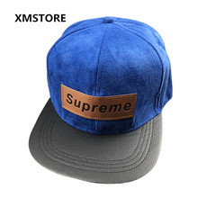 2017 New High Quality Chamois Leather Supreme Baseball Cap Men Women Bone Outdoor Sport Supreme Letter Snapback Hip-Hop Hat W188