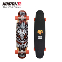KOSTON Professional Multifunction Longboard Completes Vicious Cycle 40inch Skateboard High Quality Adult Long Skateboard LB203