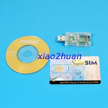 USB 16in1 Sim card Reader Writer Copy Cloner Backup CD #H029#(China)