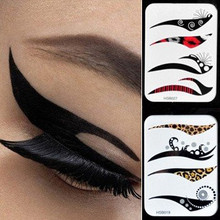 40pairs Mix Eye Liner Sticker Tattoos 4 Different Styles in One Bag Makeup Tools delineador charming stick for women