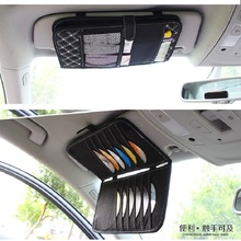 Auto Car 12pcs Disc DVD Storage Organizer Holder CD Sleeve Case Double Layer Carry Bags Cards Holder Universal Auto Product(China)