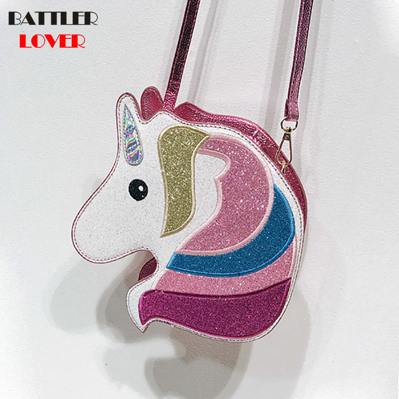 Unicorn Horse Shape Womens Bags Handbags Crossbody Bags Girls Shoulder Messenger Bag Mujer Casual Handbag for Women 2018